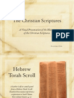 A Visual Presentation of the Major History of the Christian Scriptures