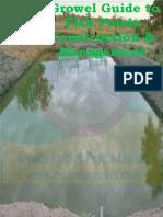Growel Guide to Fish Ponds Construction & Management