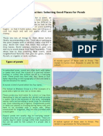 How to Select & Construct Ponds for Fish Farming