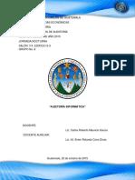Trabajo No. 22 Auditoría Informática