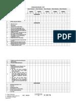 Daftar Tilik CVP