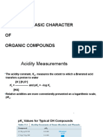 Lesson 14 Acidic and Basic Character of Organic Compounds