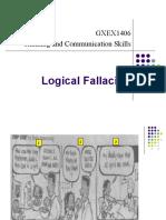 Week Logical Fallacies