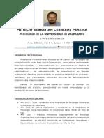 CV Patricio Ceballos, 2016