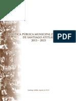 Política Pública Municipal de la Mujer