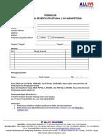 Formulir Perdaftaran Diklat_Uji