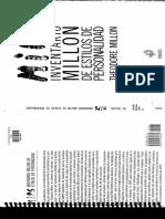 Inventario Multiaxial Clínico de Millon (Manual Original)
