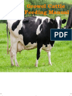 Growel Cattle Feeding Manual