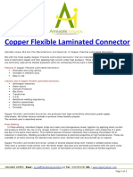 Copper Laminated Flexible Connector Manufacturer