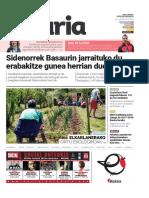 020. Geuria aldizkaria - 2016 ekaina