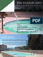 Catalogo Piscinas Cano 2016
