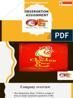 Chicken Rice Shop(Group Assignment) Slides