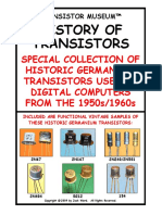 HISTORY OF GERMANIUM TRANSISTORS