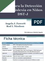 (DST-J) Test Para La Detección de La Dislexia en Niños