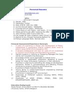 Resume Trim Design