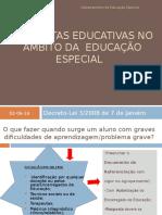 Respostas Educativas Educacao Especial