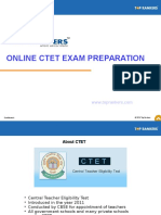 online CTET practice papers and tips