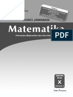 silabus,rpp dan kunci jawaban matematika peminatan kelas x semester 2