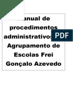 Manual Procedimentos Administrativos Aefga