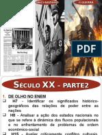 Aula 17_ Panorama Geral_entre-guerras e II Guerra