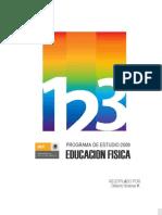 Programa 2009 -Educación Física 1o a 3o SEP