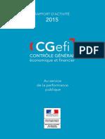 Rapport d Activite Cgefi 2015