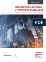 A Managed Services approach to Trading IT Excellence