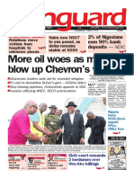 More oil woes as militants blow up Chevron's wells