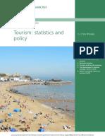 tourism policies and statistics