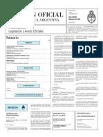 Boletín Oficial de la República Argentina, Número 33.391. 02 de junio de 2016