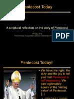 Pentecost Today