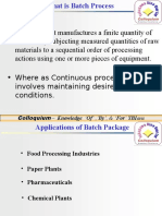 Batch Process Concepts