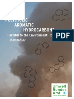 Polycyclic Aromatic Hydrocarbons Why the Ban