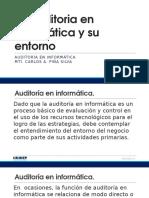 2. La Auditoria en Informática y Su Entorno