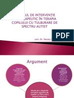 Modelul de Interventie Artterapeutic in Terapia Copilului Cu Tulburare de Spectru Autst