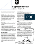 Spills and Leaks