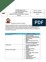 temas evaluación 2 periodo primaria 2016 - 3°