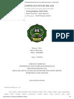 Makalah MSI (Metodologi Studi Islam) Islam Normatif Dan Islam Historis _ JALAN LURUS