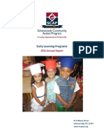 2015 Early Learning Annual Report