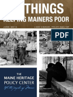 The Top 10 Thinks Keeping Mainers Poor