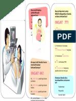 Leaflet Periksa Kehamilan
