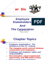 Employee Stakeholders and Corporation