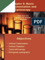 Basic Instrumentation and Cystoscopy