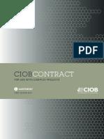 CIOB Contract