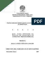 Funcion testimonial e hibridez genérica en Redoble Por Rancas de Manuel Scorza