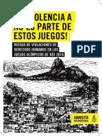Violaciones a los derechos humanos en Río de Janeiro
