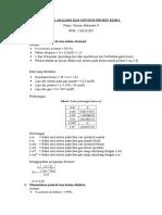 Tugas 2 Analisis Dan Sintesis Proses Kimia