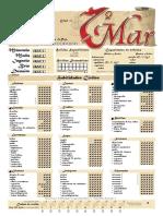 7º Mar - Meggan O'Connor Hoja Editable