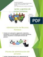 Administración y Gestión de Los Recursos Humanos