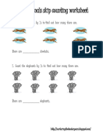 African Animal Skip Counting